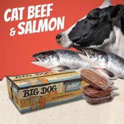 貓生食推薦-巴夫牛肉鮭魚