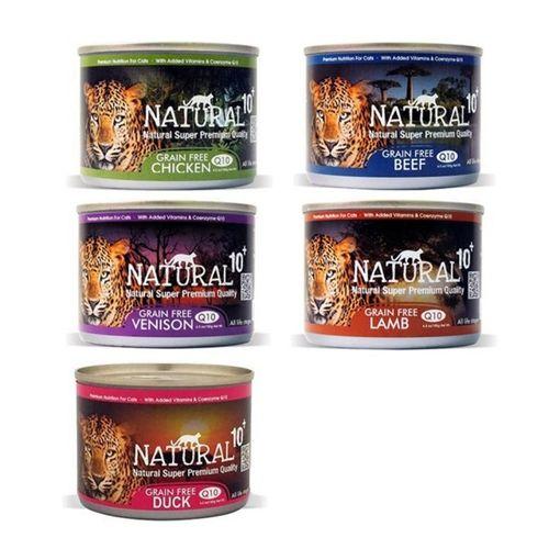 紐西蘭NATURAL10+貓罐頭