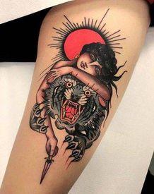 美式舊傳統刺青