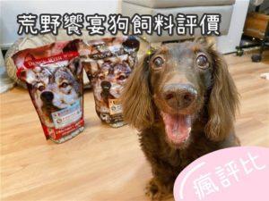 【瘋評比】荒野響宴狗飼料|賓狗客觀試吃評價