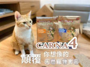 【瘋評比】Carna4卡娜芙貓飼料|五貓試吃評價!酥脆的口感