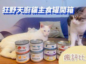 狂野天廚貓主食罐頭開箱|五貓試吃評價【瘋評比】