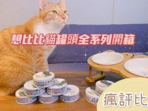 想比比貓罐頭全系列開箱|五貓試吃評價【瘋評比】